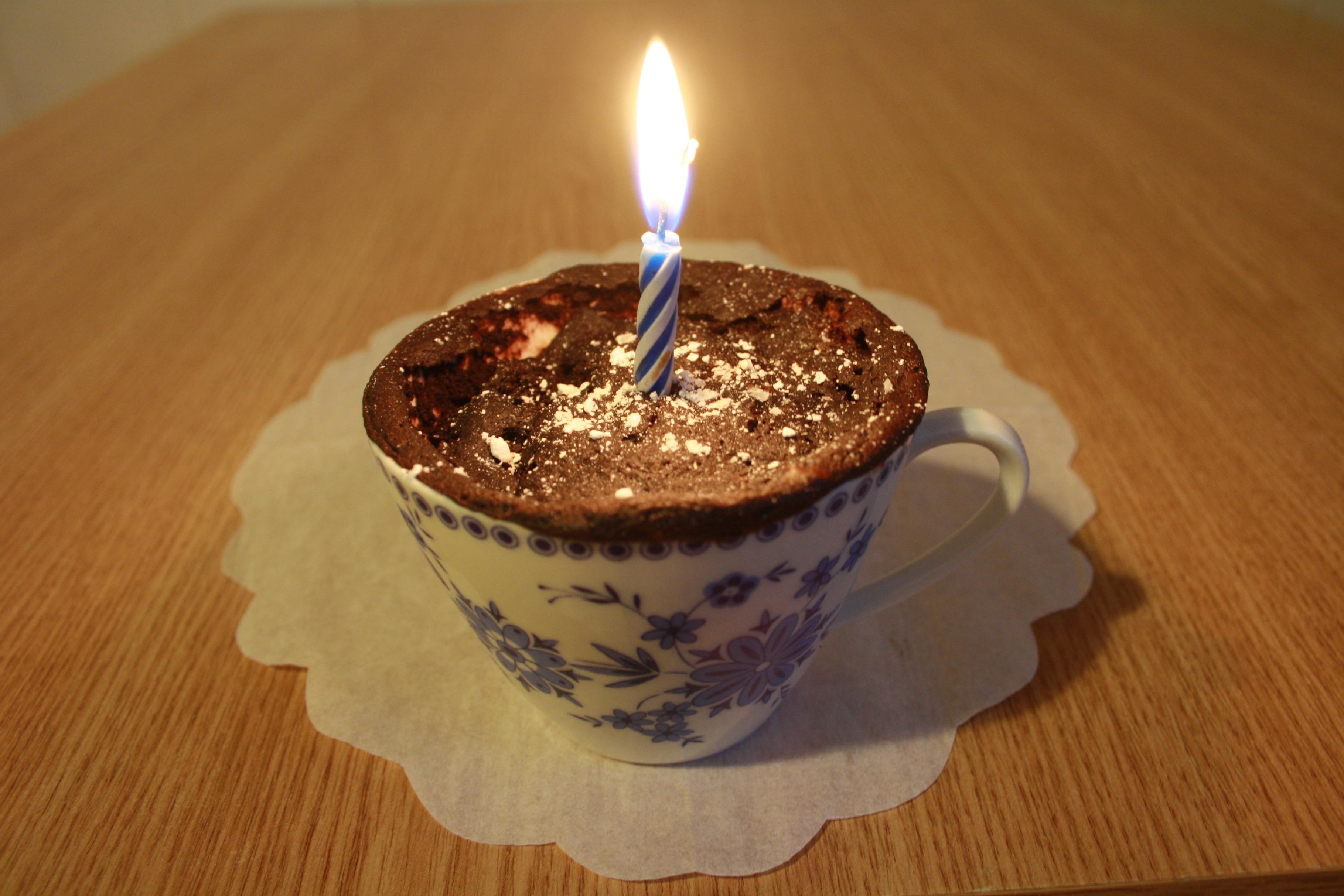 2 1/2 Minuten Cupcake