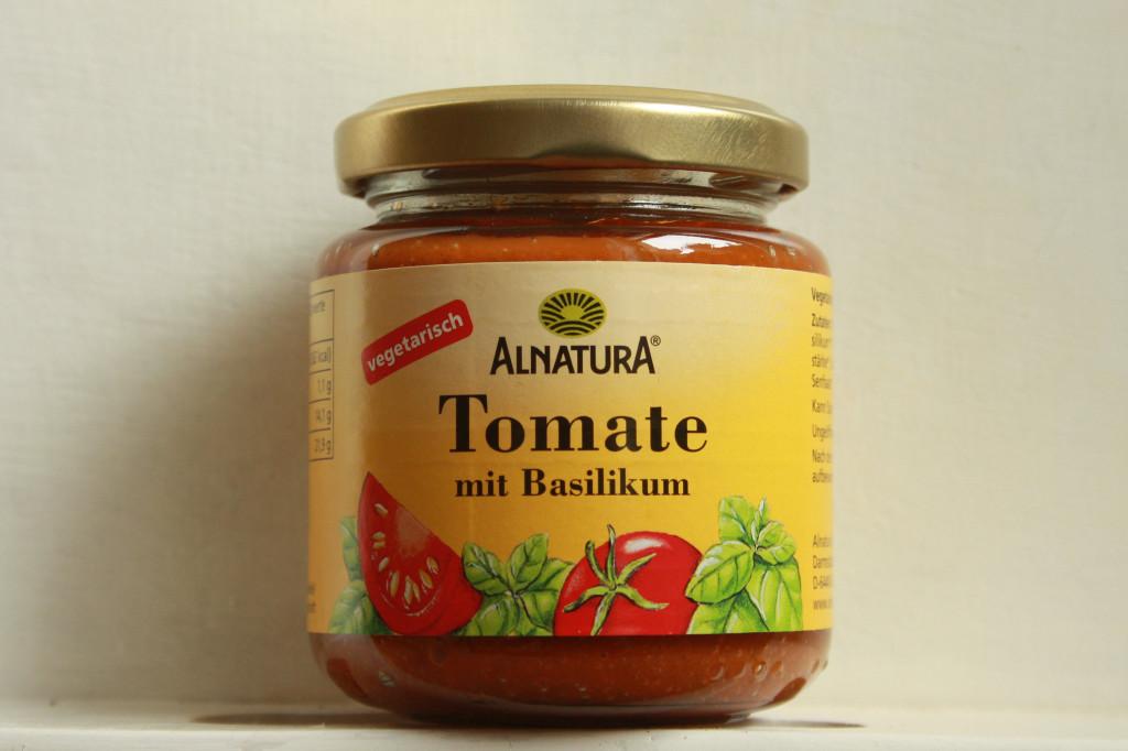 Tomate Basilikum Aufstrich Alnatura