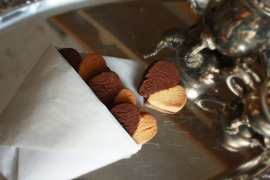 Verliebte Kekse