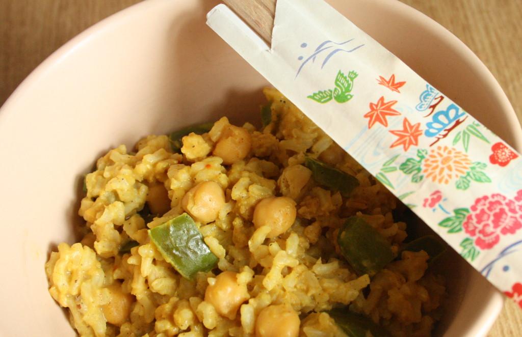 Rezept: Kichererbsen Curry
