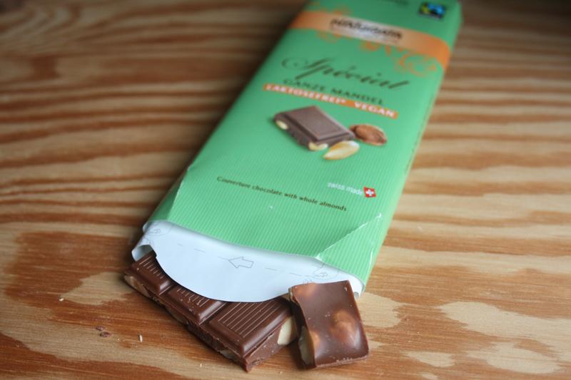 Vegane Schokolade mit Reismilch
