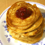 Wunderbare vegane Pancakes