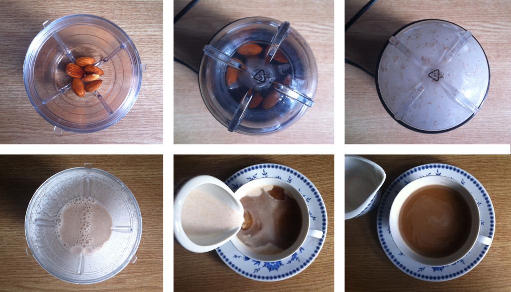 Rezept: Mandelmilch selbst machen