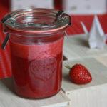 Rezept// Erdbeer-Pfeffer-Sahne Marmelade [vegan]