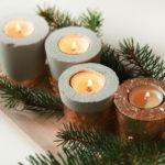 DIY// Beton & Kupfer Kerzenhalter