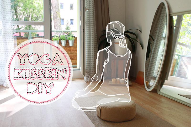 DIY Anleitung Yogakissen Meditationskissen
