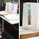 DIY: Lichttüte mit Wünschen für Gartenparty