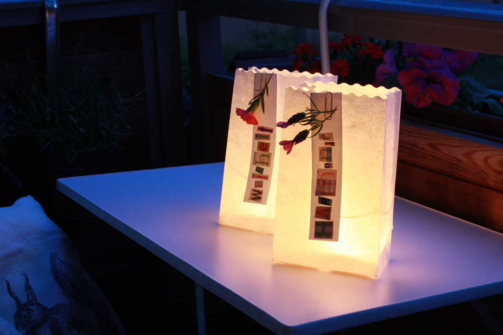 DIY Lichttüten