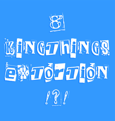 kingthings extortion free font