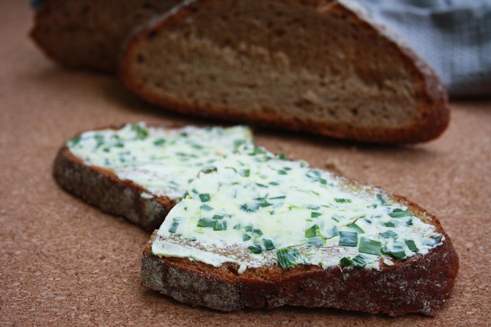 Rezept Bärlauch-Butter vegan