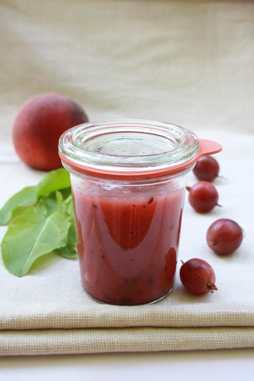 Stachelbeer Sauerampfer Marmelade