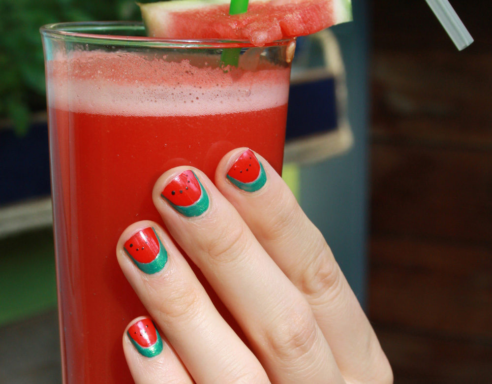 Wassermelone Cranberry Smoothie