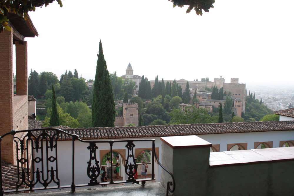 Alhambra Andalusien