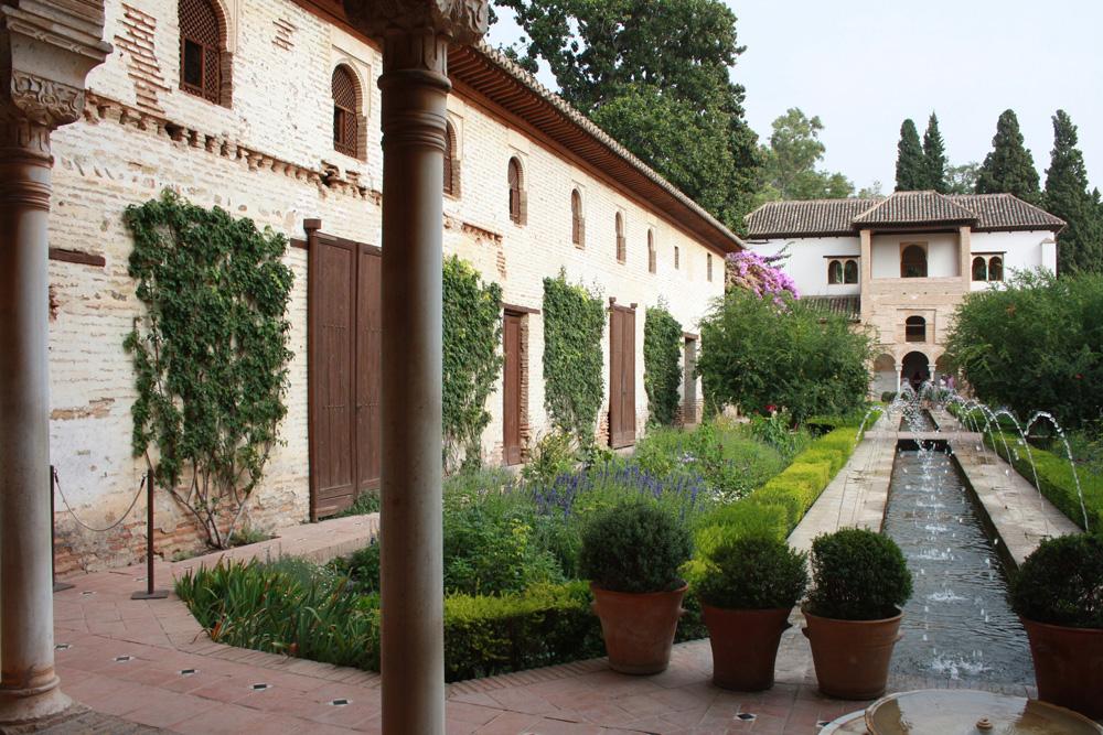 Alhambra Andalusien Garten