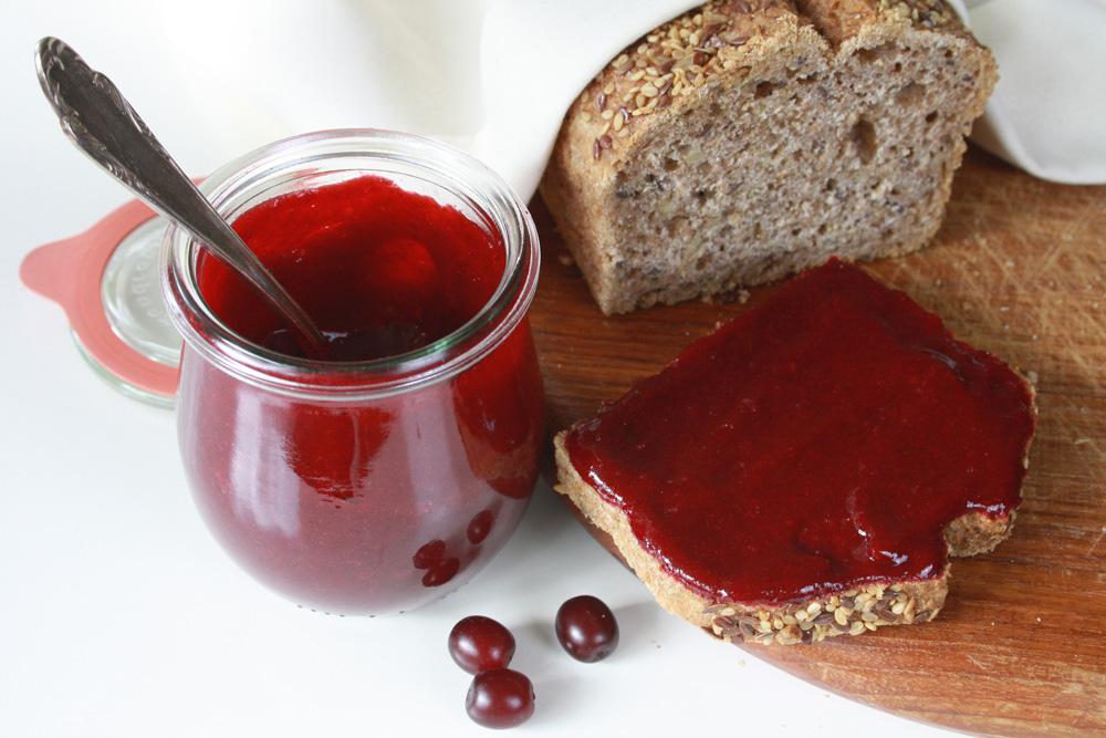 Kornelkirschen Marmelade