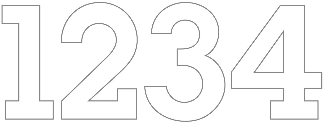 Hallo Piepmatz! Druckvorlage für Beton Kerzenhalter mit Zahlen Prägung Adventskranz