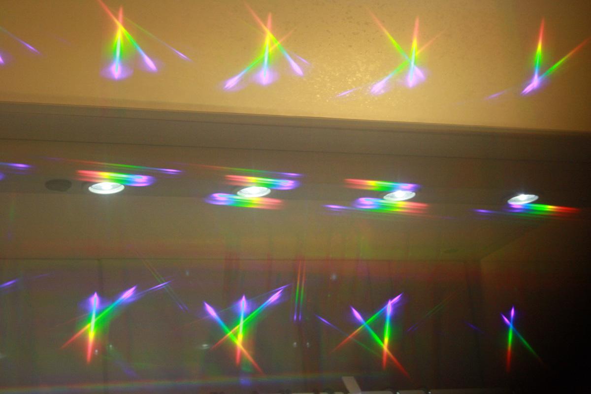 Regenbogen-Auge, Spektralfarben, Multispektralfolie