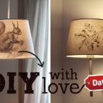 DIY für Eichhörnchen-Lampe auf DaWanda!