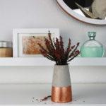 Lang versprochene Anleitungen für Betonvasen