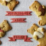 Bärchen-Kekse mit Mandel zum Valentinstag [vegan]