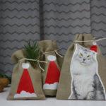 Geschenkbeutel selber bedrucken mit Plastiktüten