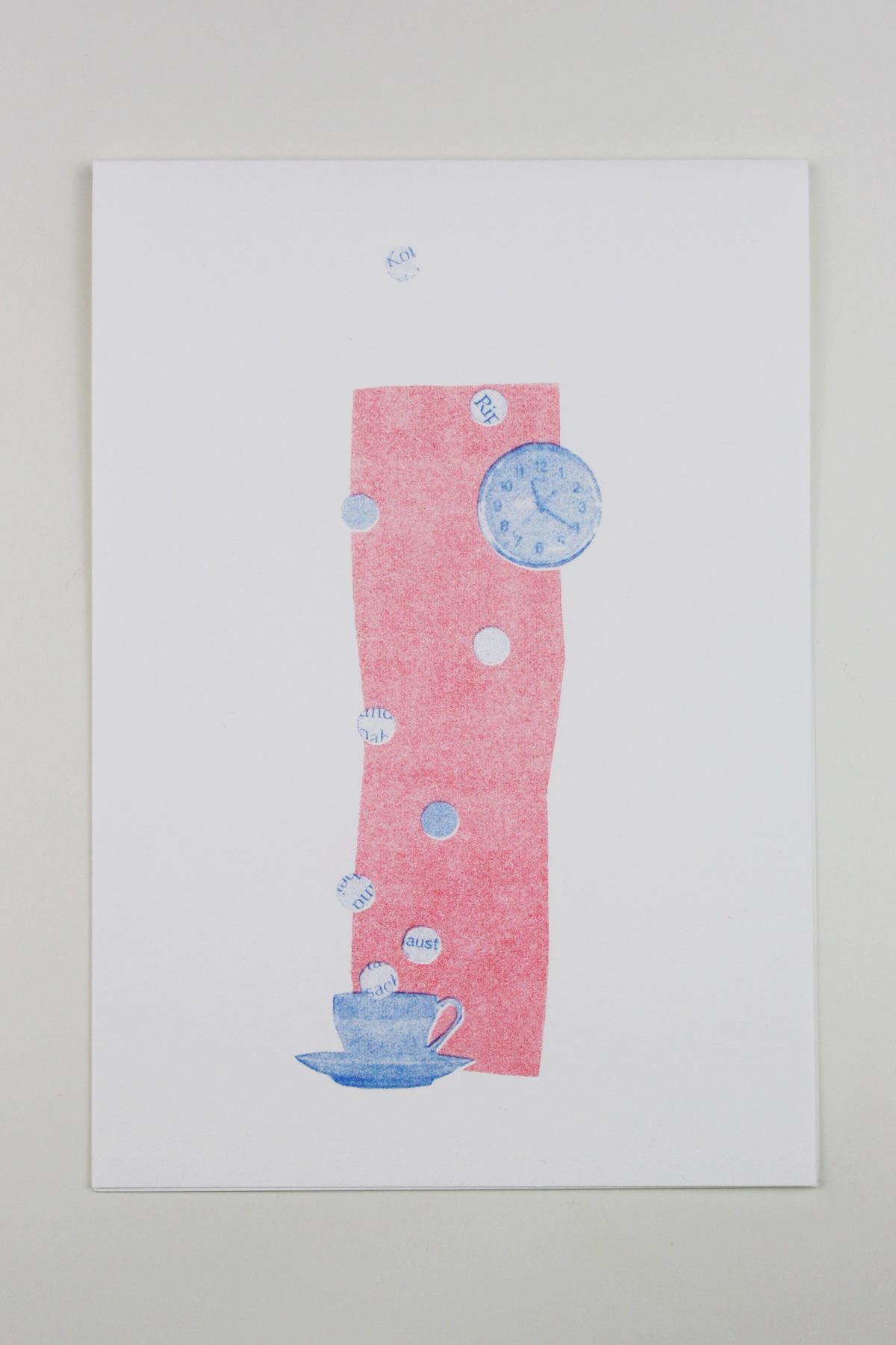 postkarte_collage_illustration_kathleen_gust_riso_druck_valentinstag_handlettering1
