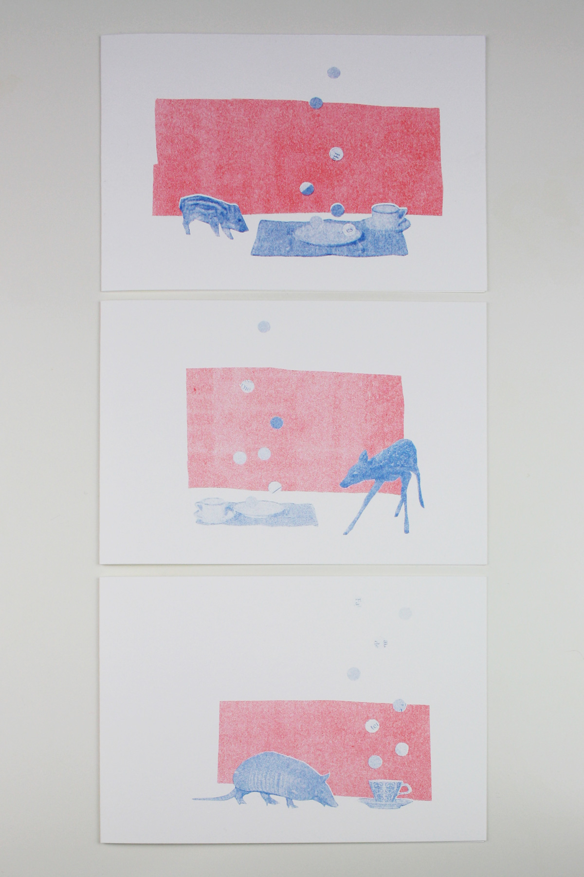 postkarte_collage_illustration_kathleen_gust_riso_druck_valentinstag_handlettering2
