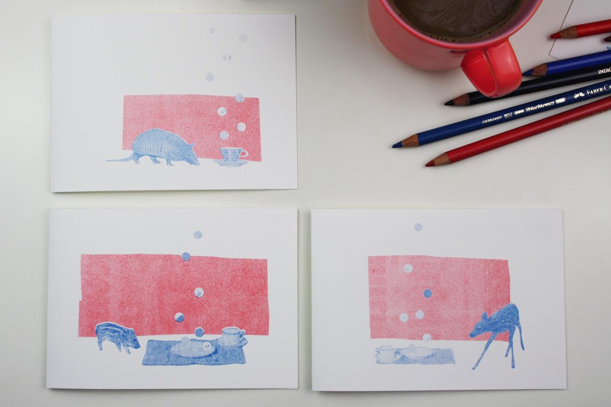 postkarte_collage_illustration_kathleen_gust_riso_druck_valentinstag_handlettering3