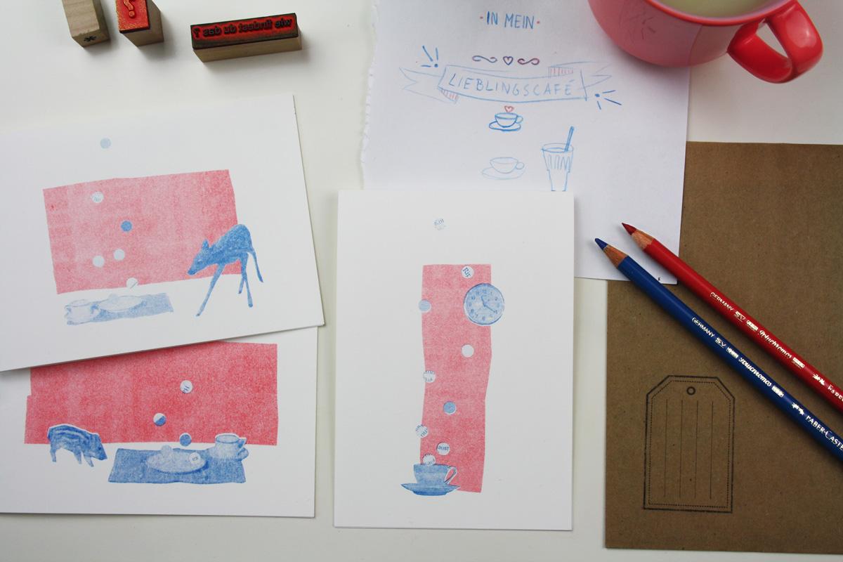 postkarte_collage_illustration_kathleen_gust_riso_druck_valentinstag_handlettering5