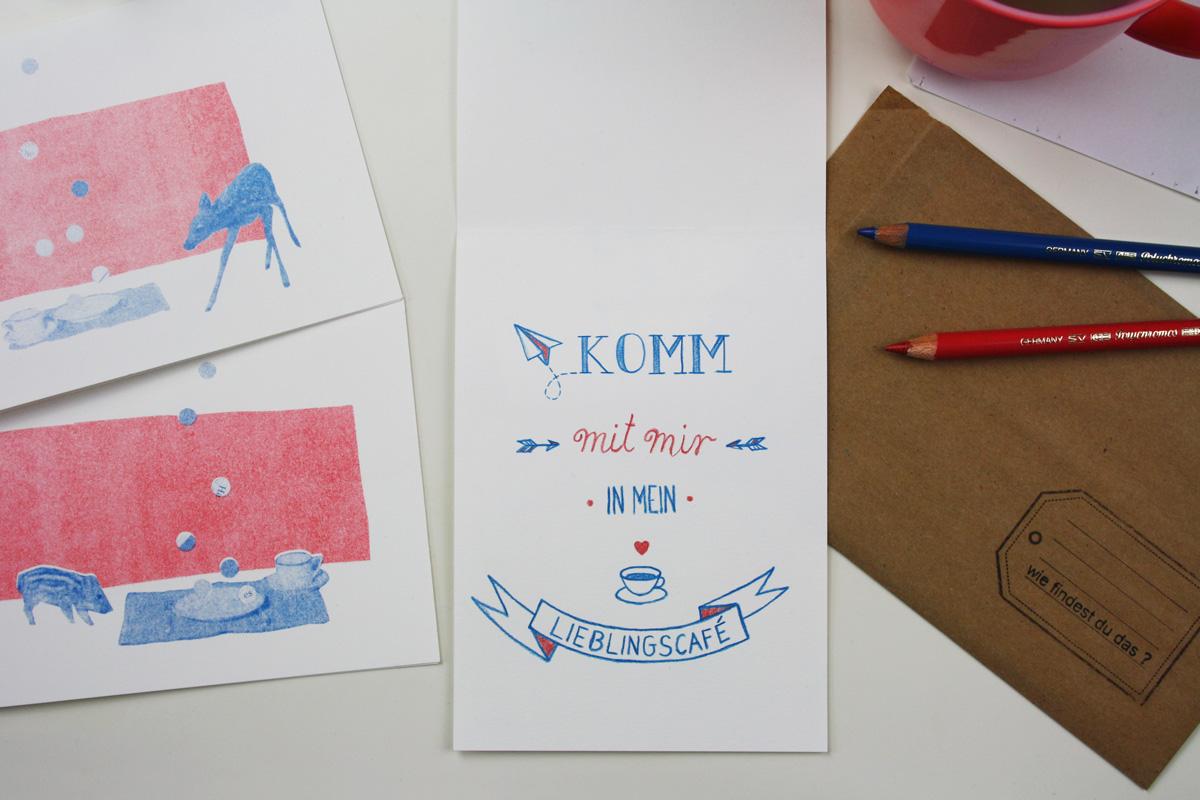 postkarte_collage_illustration_kathleen_gust_riso_druck_valentinstag_handlettering6