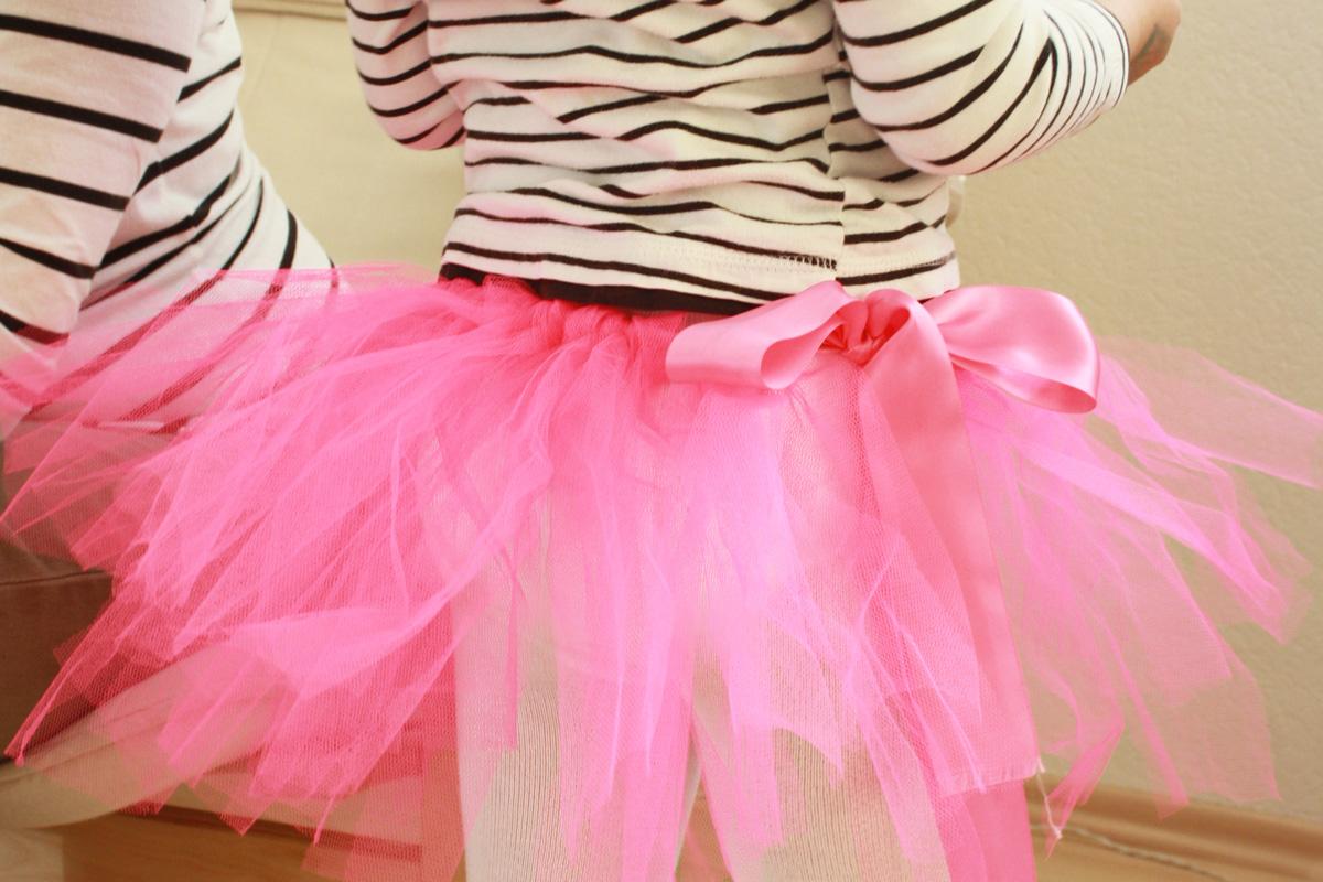 kids diy ballerina tutu ohne n hen selber machen. Black Bedroom Furniture Sets. Home Design Ideas