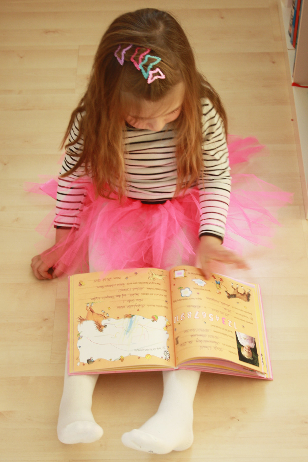 kids diy ballerina tutu ohne n hen selber machen. Black Bedroom Furniture Sets. Home Design Ideas
