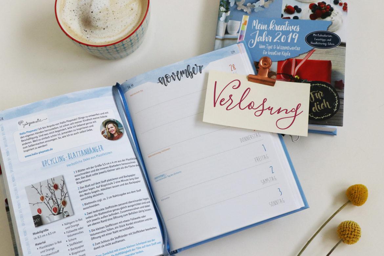 """Verlosung des Wochenplaners """"Mein kreatives Jahr2019"""" vom Frechverlag – Blick ins Buch"""